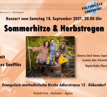 Kulturplatz-Konzert: Sommerhitze & Herbstregen